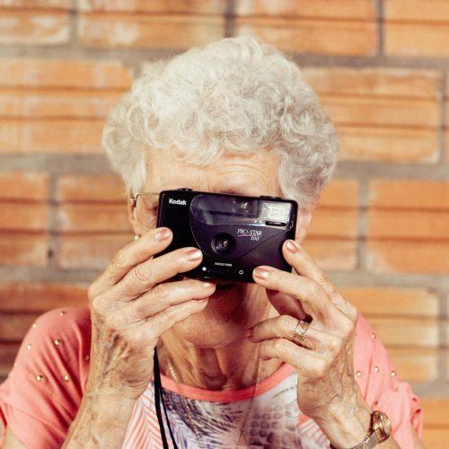 ältere Menschen