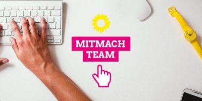 Komm ins Mitmach-Team der bayerischen Grünen