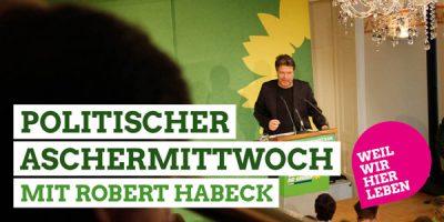 Politischer Aschermittwoch 2020 mit Robert Habeck in Landshut