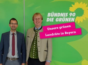 Unsere grünen Landräte Beppo und Jens Marco