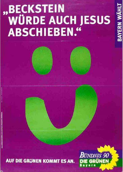 1998_Wahlplakat-Landtagswahl_Beckstein-wuerde-auch-Jesus-abschieben