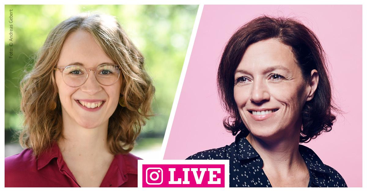 Insta-Live mit Eva Lettenbauer und Natascha Zeljko