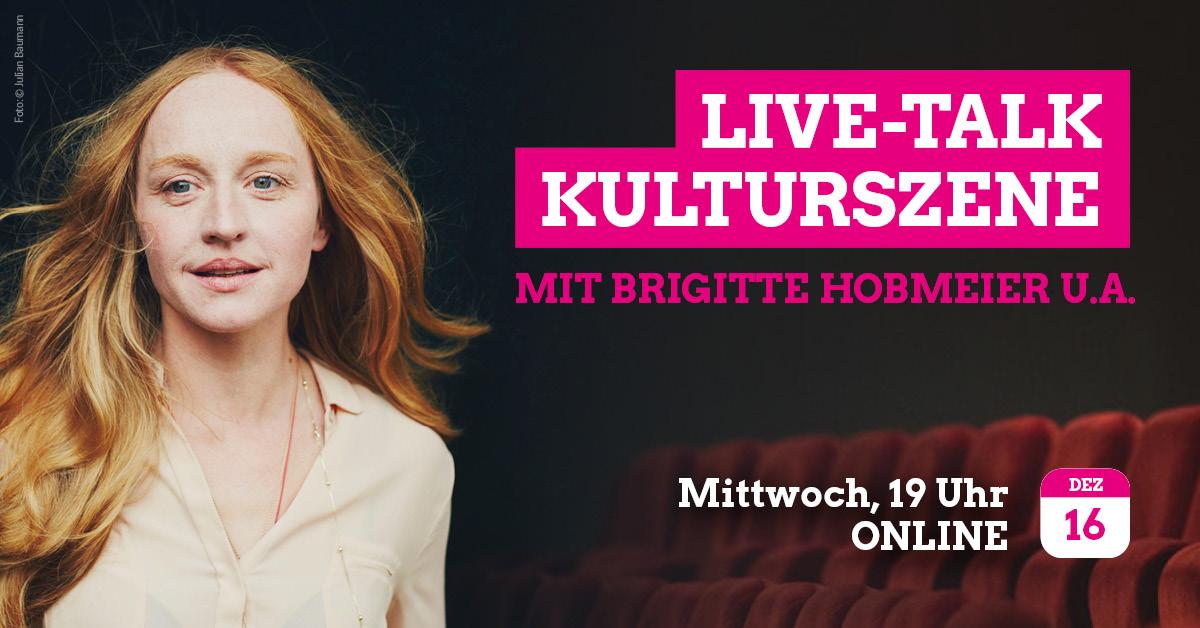 Porträt der Schauspielerin Brigitte Hobmeier