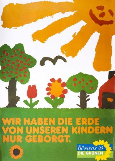 1979_Plakat_Wir-haben-die-Erde-von-unseren-Kindern-nur-geborgt