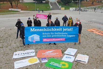 Bündnis #Bayernnimmtauf, © GRÜNE Bayern