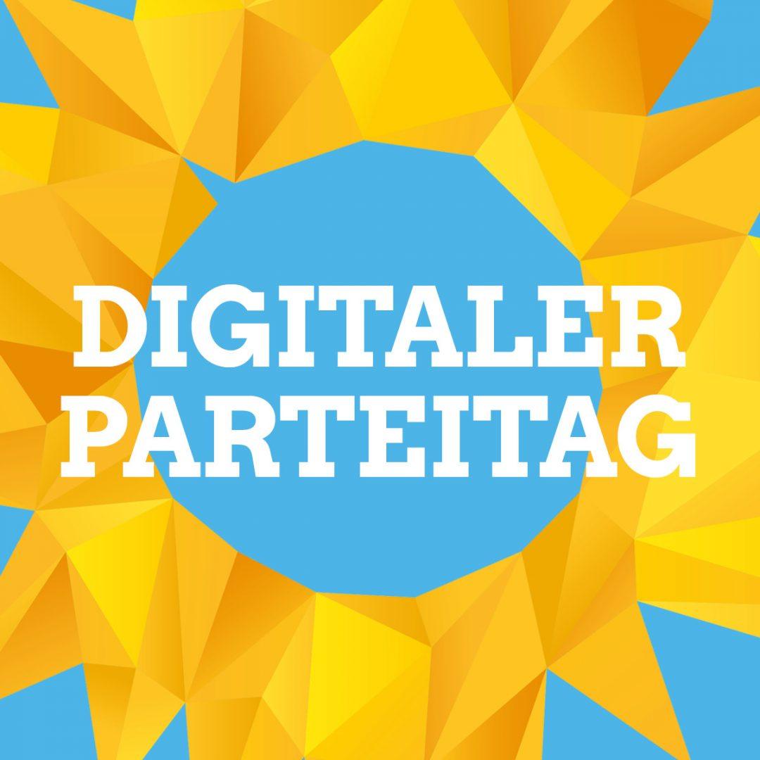 Am 14. November findet unser digitaler Parteitag statt!