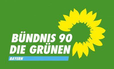 Logo auf Grün