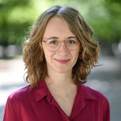 Eva Lettenbauer, die Parteivorsitzende der bayerischen GRÜNEN