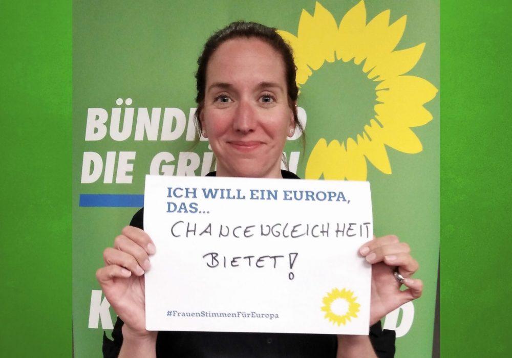 #FrauenStimmenfürEuropa_Ich will ein Europa, das_Frauentag_Grüne Bayern_10