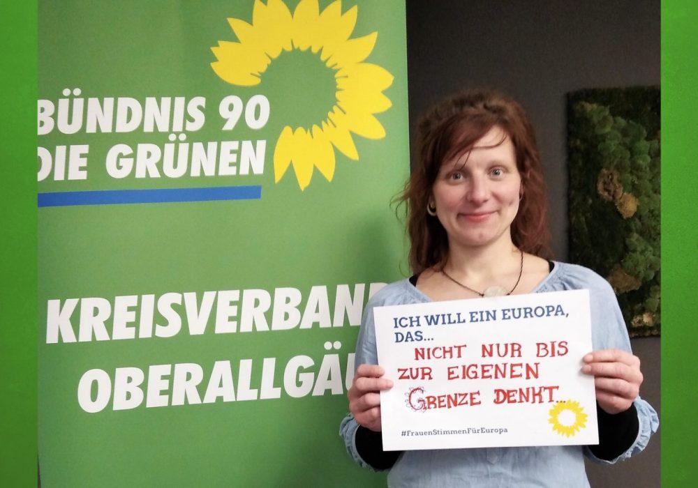#FrauenStimmenfürEuropa_Ich will ein Europa, das_Frauentag_Grüne Bayern_12