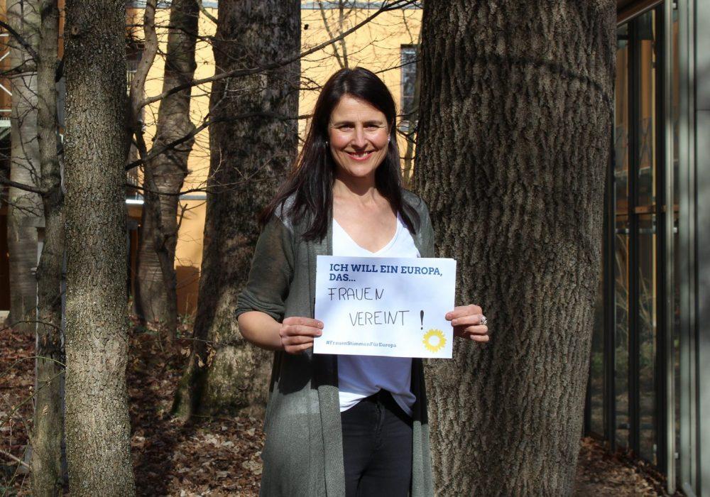 #FrauenStimmenfürEuropa_Ich will ein Europa, das_Frauentag_Grüne Bayern_2019_02_26 Christina