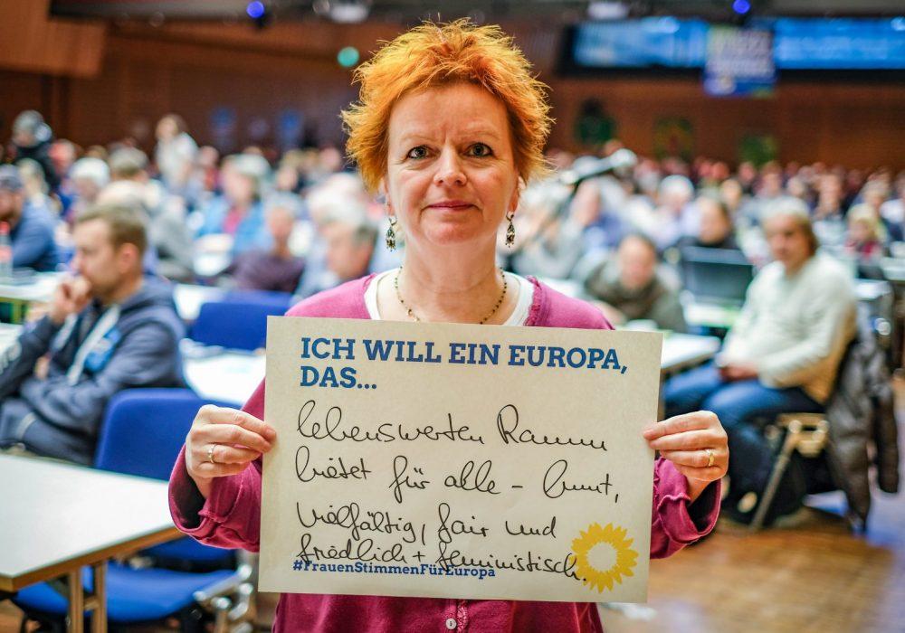 #FrauenStimmenfürEuropa_Ich will ein Europa, das_Frauentag_Grüne Bayern_Barbara Fuchs (2)