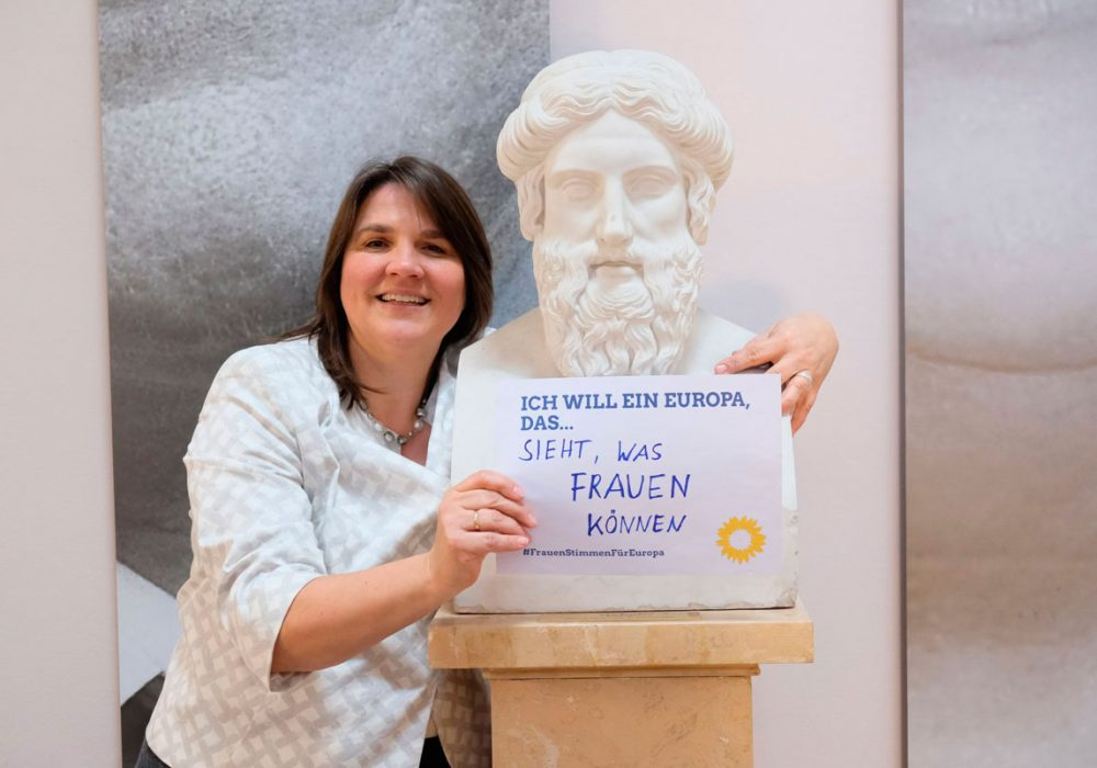 #FrauenStimmenfürEuropa_Ich will ein Europa, das_Frauentag_Grüne Bayern_Claudia