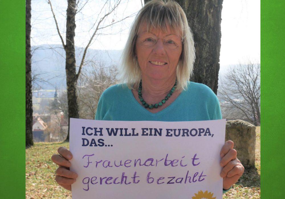 #FrauenStimmenfürEuropa_Ich will ein Europa, das_Frauentag_Grüne Bayern_Elisabeth Altmann Europa
