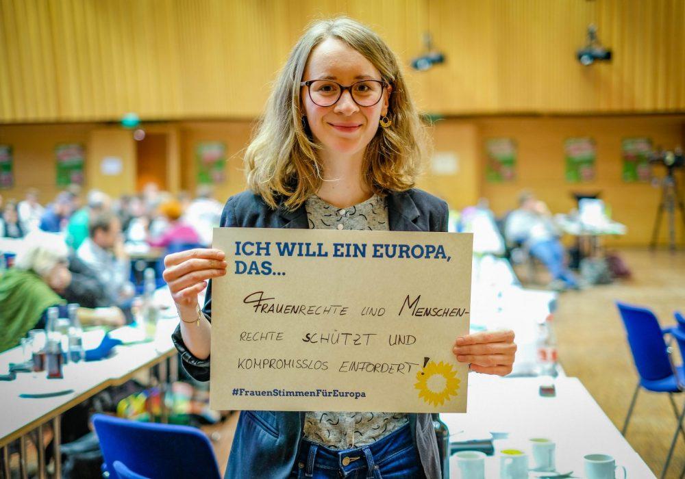 #FrauenStimmenfürEuropa_Ich will ein Europa, das_Frauentag_Grüne Bayern_Eva Lettenbauer