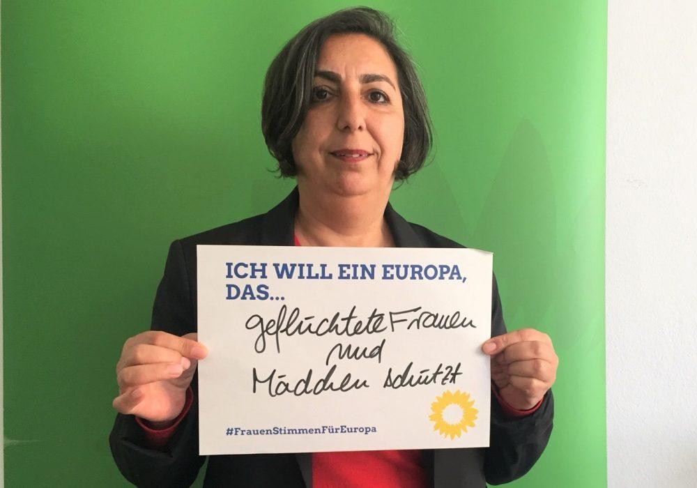 #FrauenStimmenfürEuropa_Ich will ein Europa, das_Frauentag_Grüne Bayern_Gülseren Demirel