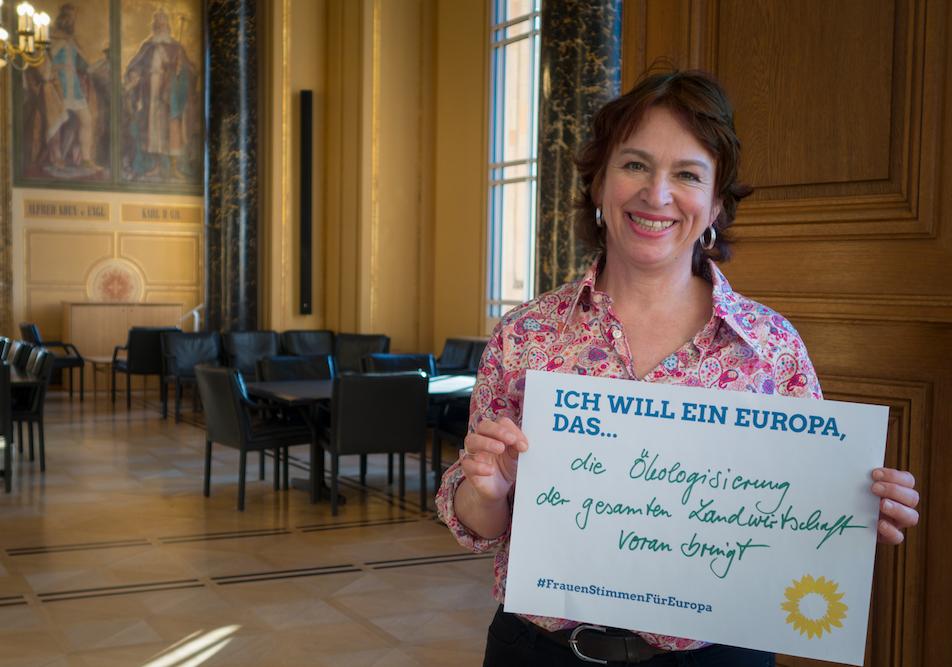 #FrauenStimmenfürEuropa_Ich will ein Europa, das_Frauentag_Grüne Bayern_Gisela Sengl