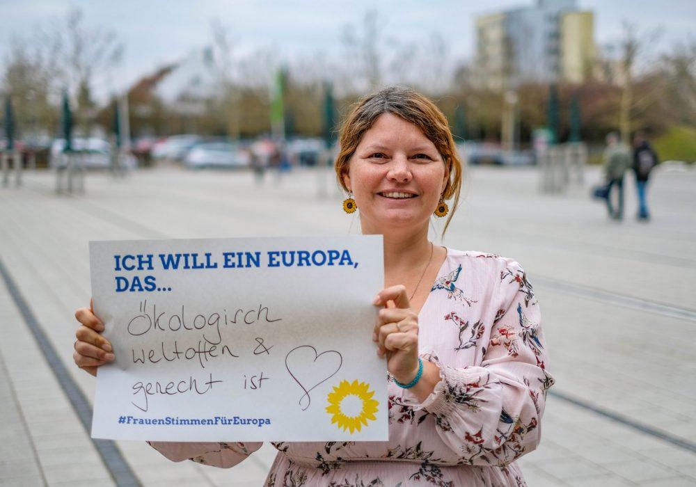#FrauenStimmenfürEuropa_Ich will ein Europa, das_Frauentag_Grüne Bayern_Gurdrun Lux