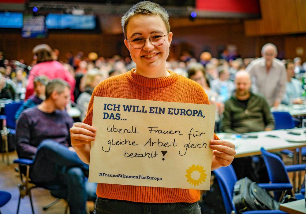 #FrauenStimmenfürEuropa_Ich will ein Europa, das_Frauentag_Grüne Bayern_LDK