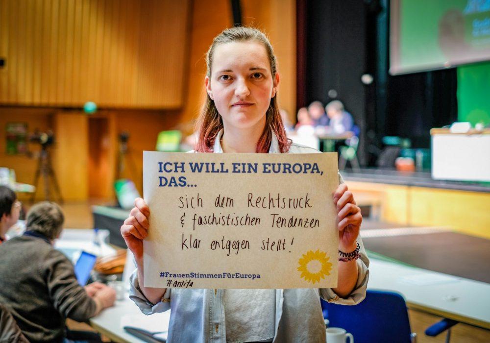 #FrauenStimmenfürEuropa_Ich will ein Europa, das_Frauentag_Grüne Bayern_LDK 3