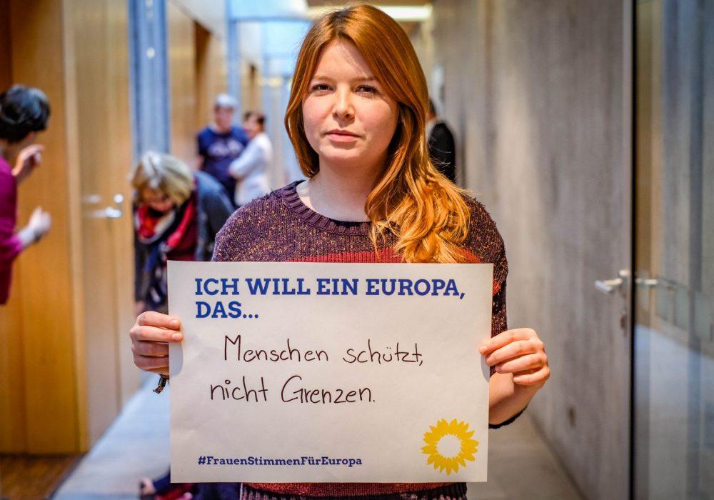 #FrauenStimmenfürEuropa_Ich will ein Europa, das_Frauentag_Grüne Bayern_LDK 4