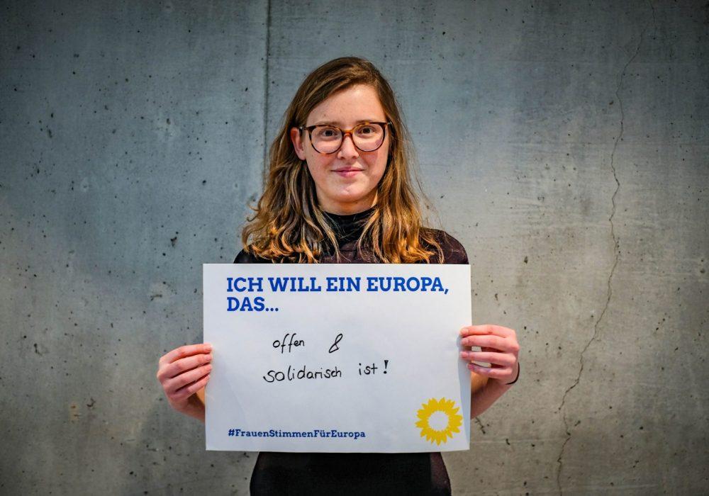 #FrauenStimmenfürEuropa_Ich will ein Europa, das_Frauentag_Grüne Bayern_LDK 5