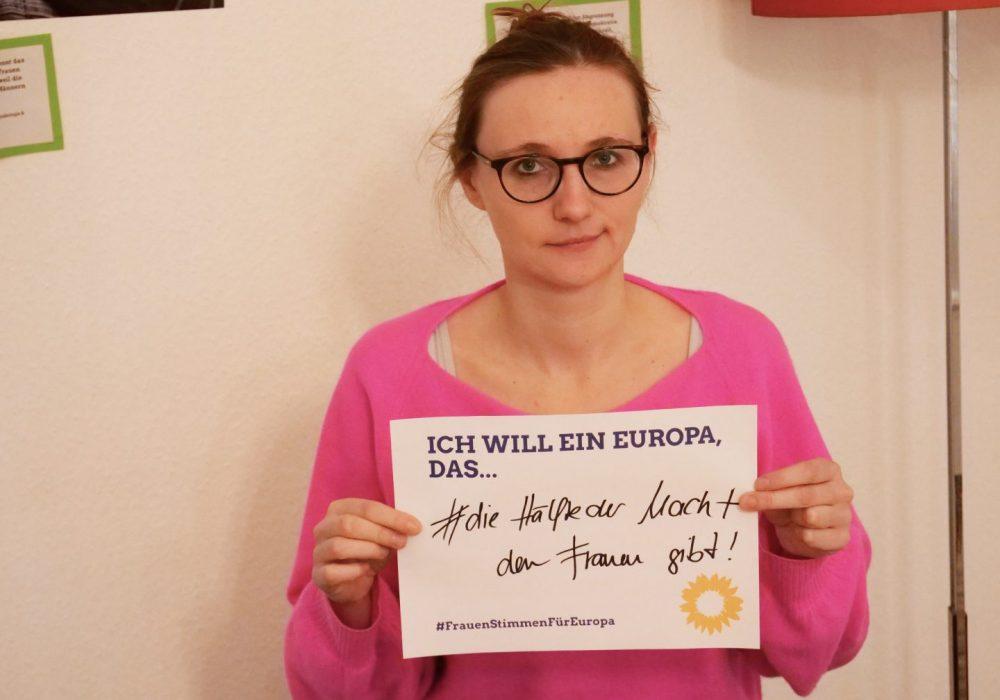 #FrauenStimmenfürEuropa_Ich will ein Europa, das_Frauentag_Grüne Bayern_Lisa Badum