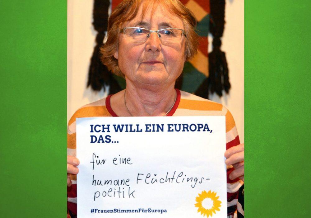 #FrauenStimmenfürEuropa_Ich will ein Europa, das_Frauentag_Grüne Bayern_Margret Deinhart