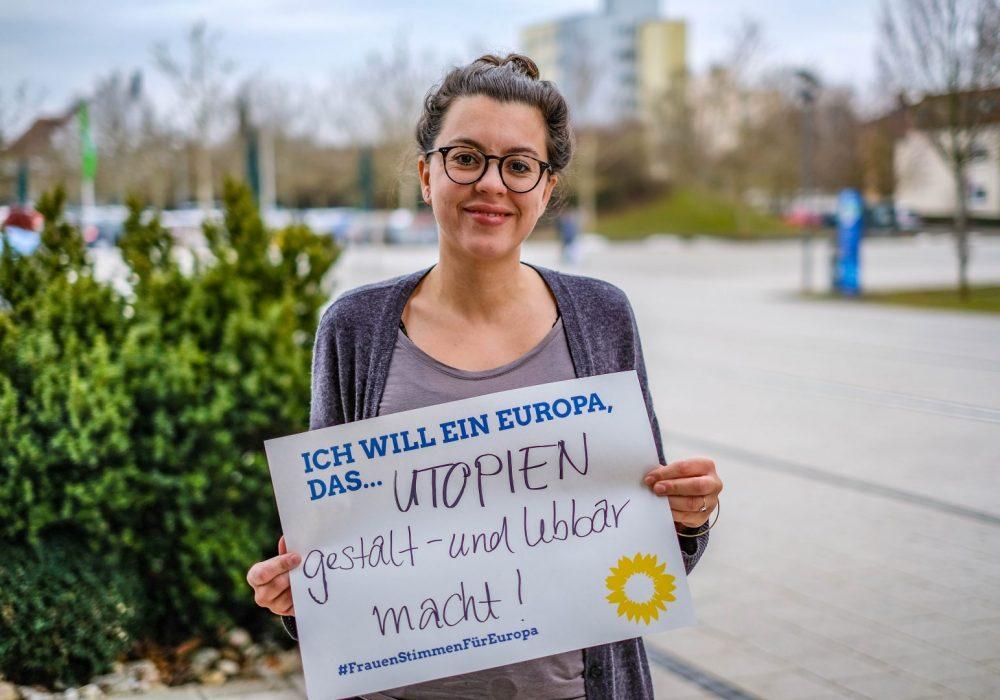 #FrauenStimmenfürEuropa_Ich will ein Europa, das_Frauentag_Grüne Bayern_Nejma tamoudi