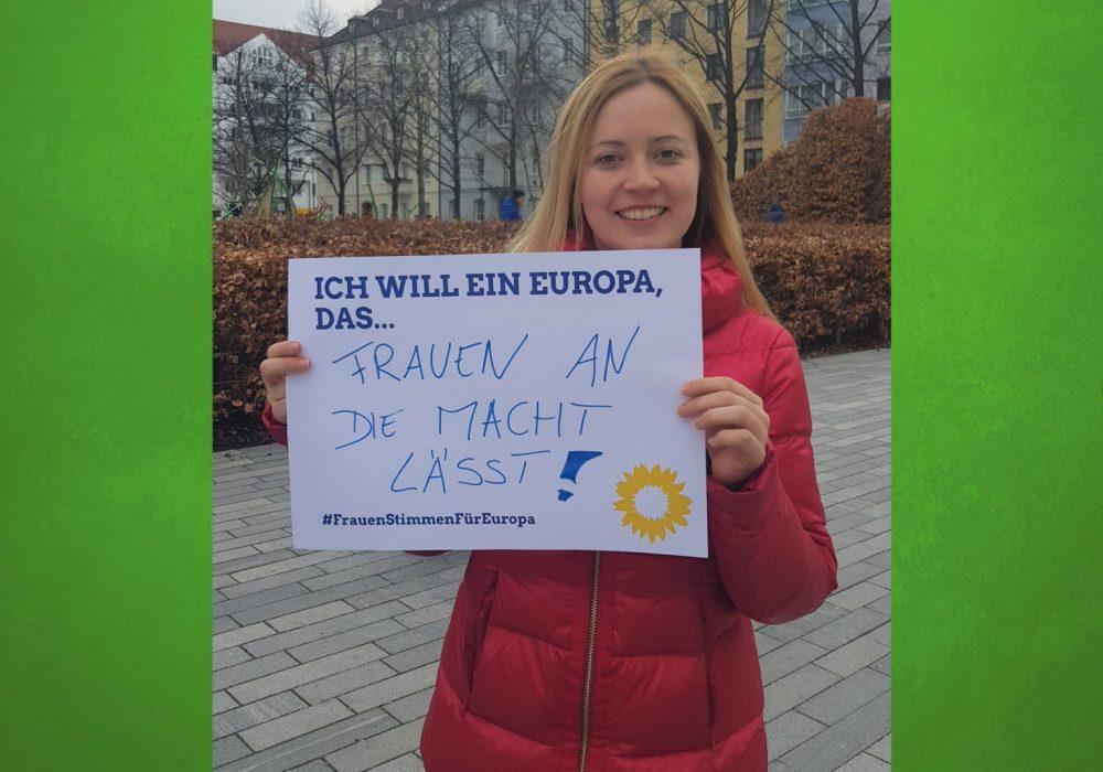 #FrauenStimmenfürEuropa_Ich will ein Europa, das_Frauentag_Grüne Bayern_OV 9