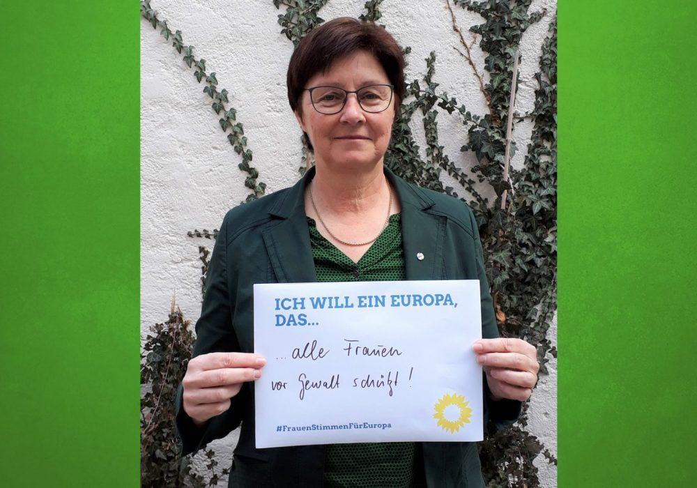 #FrauenStimmenfürEuropa_Ich will ein Europa, das_Frauentag_Grüne Bayern_Rosi Steinberger