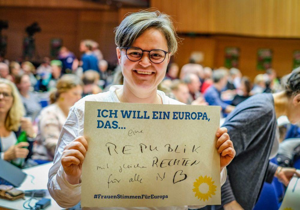 #FrauenStimmenfürEuropa_Ich will ein Europa, das_Frauentag_Grüne Bayern_Sanne Kurz