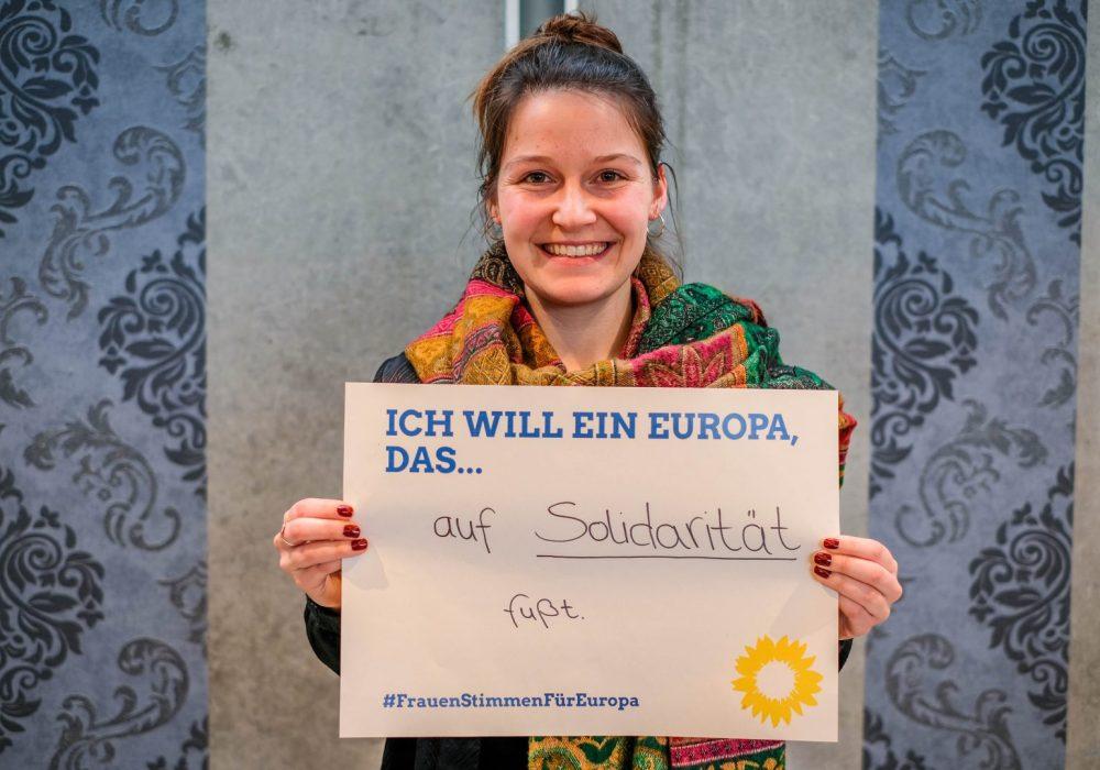 #FrauenStimmenfürEuropa_Ich will ein Europa, das_Frauentag_Grüne Bayern_Saskia Weishaupt