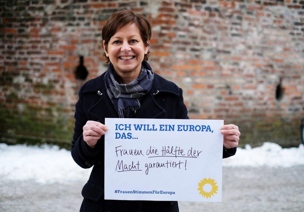 #FrauenStimmenfürEuropa_Ich will ein Europa, das_Frauentag_Grüne Bayern_Sigi Hagl_Forderung Europa