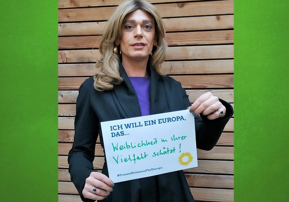 #FrauenStimmenfürEuropa_Ich will ein Europa, das_Frauentag_Grüne Bayern_Tessa Ganserer