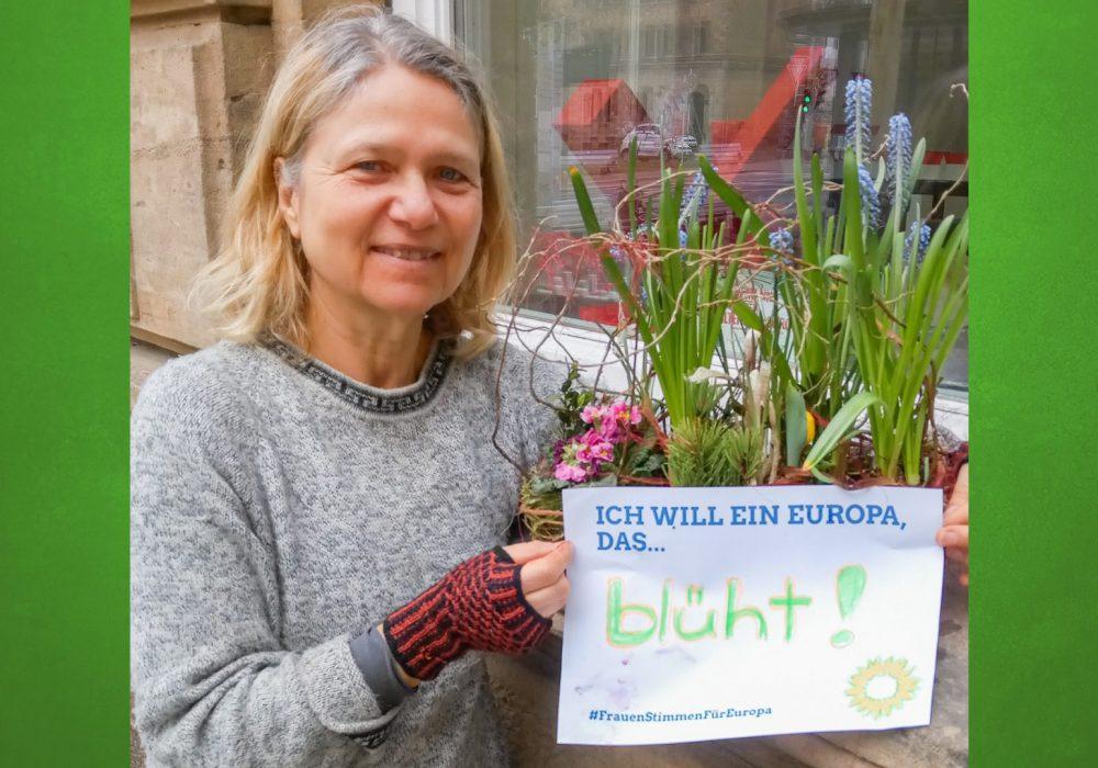 #FrauenStimmenfürEuropa_Ich will ein Europa, das_Frauentag_Grüne Bayern_Ursula Sowa