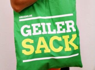Grüner Shop_Geiler Sack