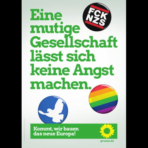 Europa Plakat_Mutige Gesellschaft