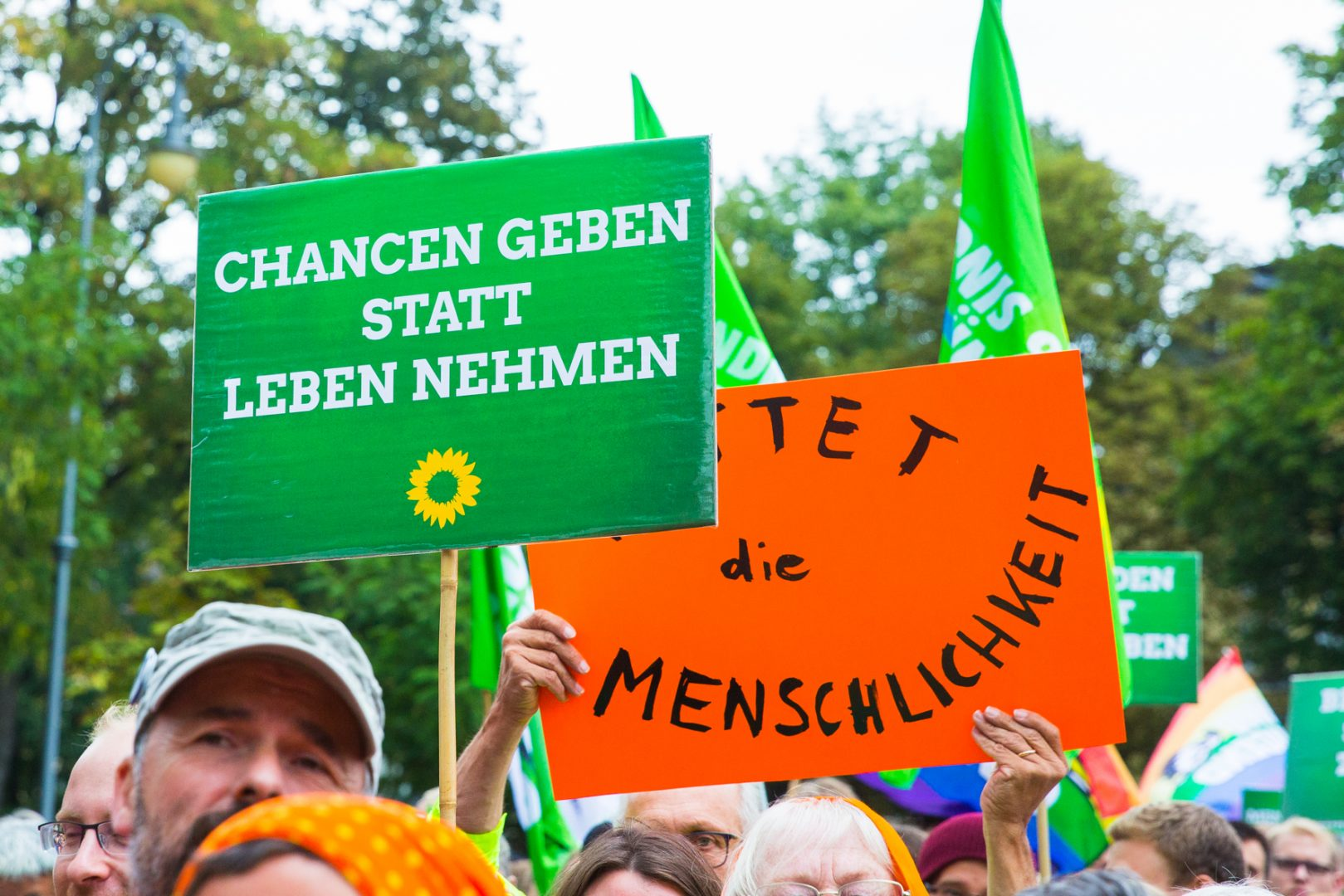 Die Grünen Plakate