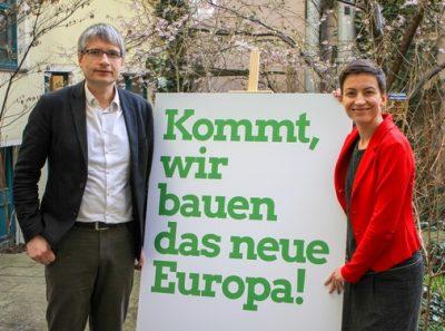 Ska Keller und Sven Giegold