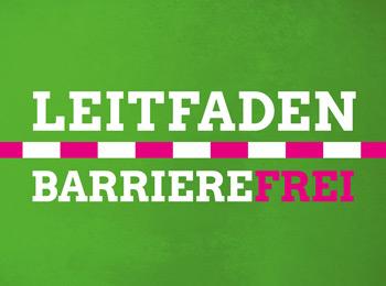 Infomaterial zum Thema Barrierefreiheit