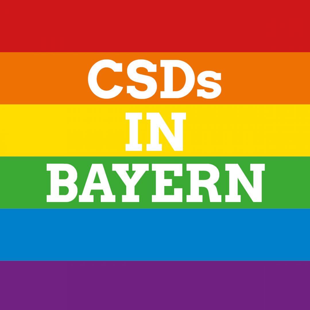 Was gibt es für alternative CSD-Veranstaltungen in Bayern?