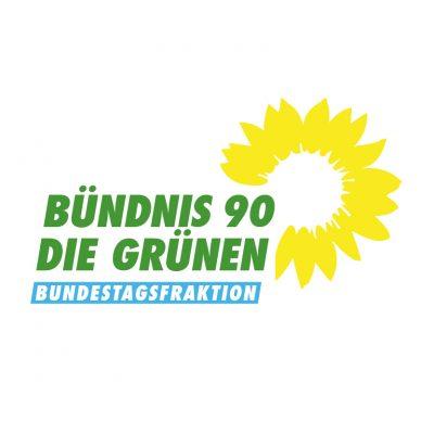 Das Logo der grünen Bundestagsfraktion